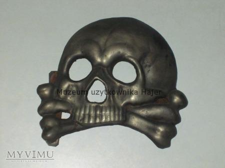 Wielka trupia czaszka Huzara Śmierci Mackensen