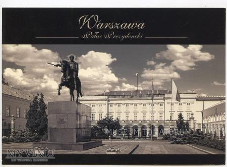 W-wa - Krakowskie Przed.- Pałac Prezydencki 2000