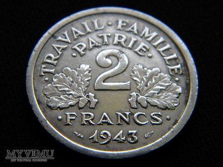 2 francs 1943