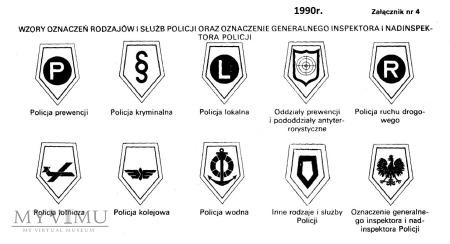 Oznaka rodzaju służby: POLICJA RUCHU DROGOWEGO