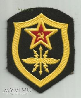 Znak: Войска связи и радиотехнические войска