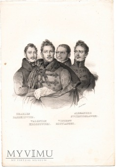 Litografia - Paszkiewicz, Krosnowski, Kobyliński..