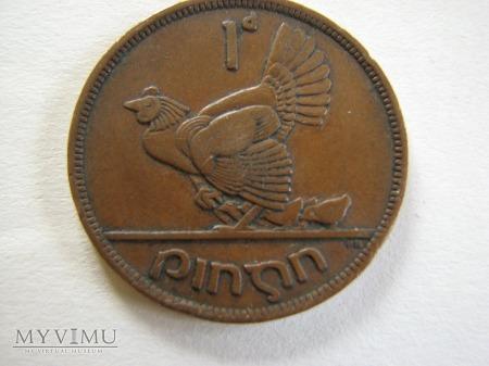 Duże zdjęcie 1 Pens Irlandzki 1942