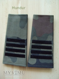 Pochewki z oznakami stopnia - plutonowy