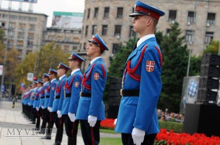 SERBIA - Naszywka przynależności państwowej