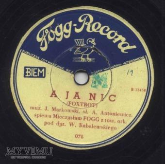 Fogg Record