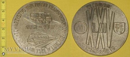 Medal kolejowy - społeczny TTT