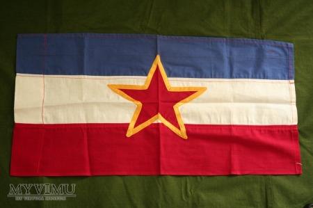Jugoslowianska flaga - zastava