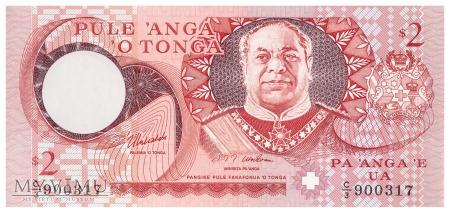 Tonga - 2 pa'anga (1995)