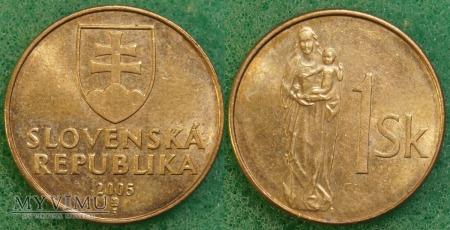 Słowacja, 1 Koruna 2005