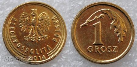 2014, 1 grosz