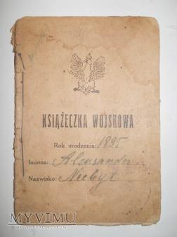Książeczka wojskowa Woźnica 9 Dyw. Taborów