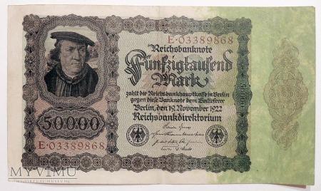 50.000 Marek 1922
