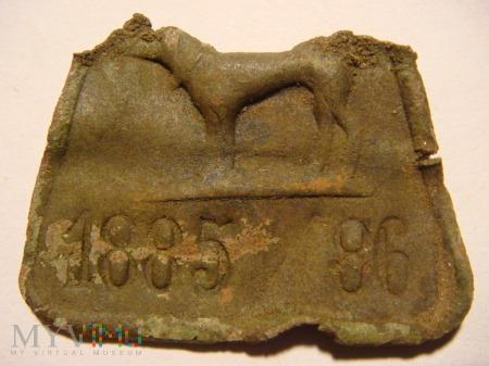 Psi numerek, identyfikator 1885 / 86