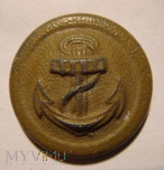 Duże zdjęcie Guzik Kriegsmarine cynkowy F L L