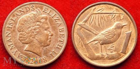 Kajmany, 1 Cent 2008