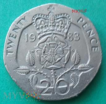 20 Twenty Pence Wielka Brytania