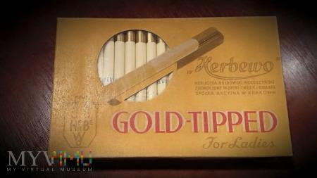 Duże zdjęcie Zwijki / Gilzy Gold - TIPPED Herbewo