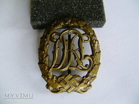 Odznaka Sportowa DRL Brązowa kolejna