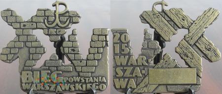 226. XXV Bieg Powstania Warszawskiego 2015