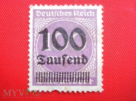 Znaczek Rzeszy Niemieckiej (2)