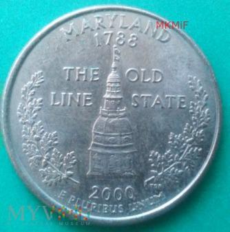 25 centów USA Maryland