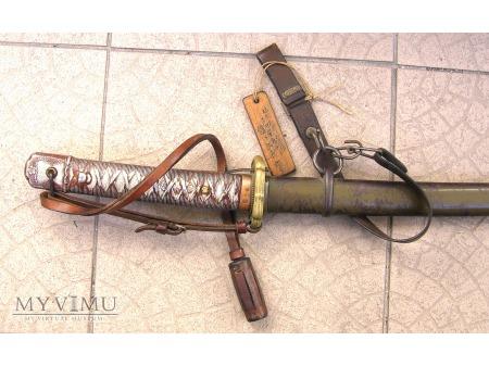 Duże zdjęcie Miecz japońskiego podoficera M- 1934.