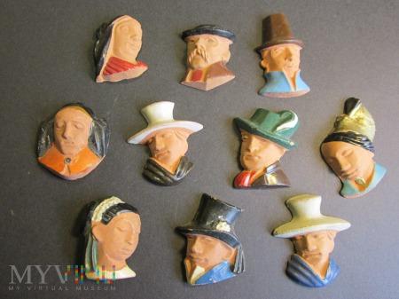 Kolekcja odznak z terakoty KWHW