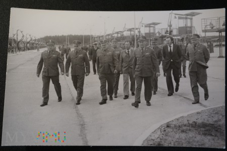 Zdjęcie żołnierzy - gdzieś w Polsce - wizytacja