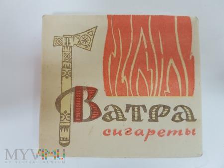 Papierosy VATRA ( Batra ) ZSRR