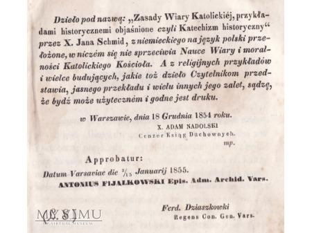 Modlitewnik z 1855