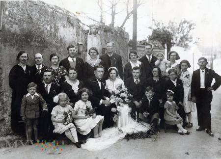 Duże zdjęcie Zdjęcie ślubne z rodziną - Na pamiątkę.