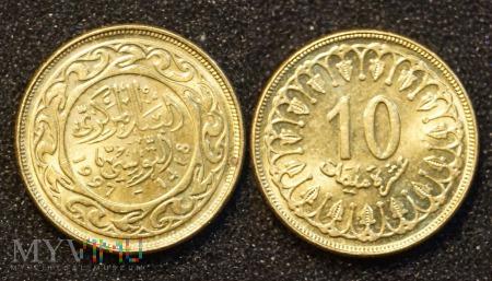 Duże zdjęcie Tunezja, 100 millimes 1997