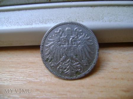 moneta austriacka 1895