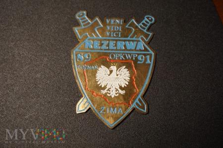 Pamiątkowa Odznaka Rezerwy - Zima 89/91