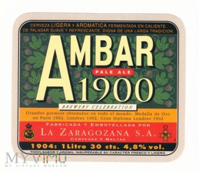 Hiszpania, Ambar 1900