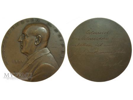 Duże zdjęcie Ignaz Seipel medal brązowy 1923