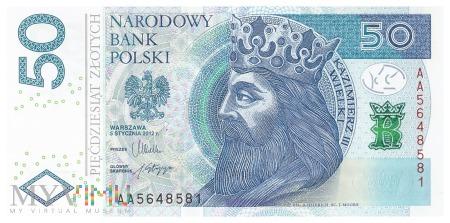 Polska - 50 złotych (2012)
