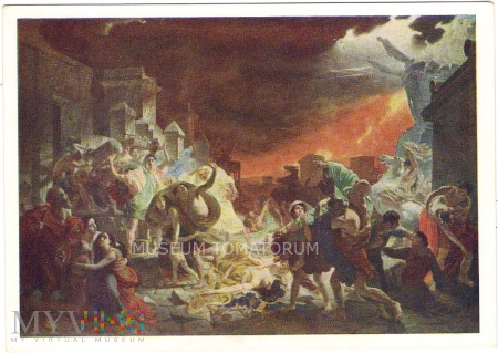 Bryullov - Ostatni dzień Pompei - 1961