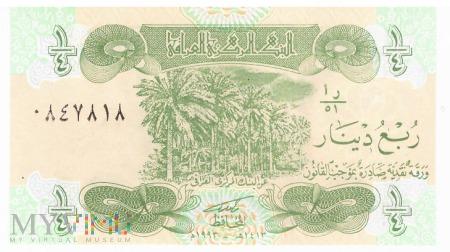 Irak - 0,25 dinara (1993)