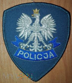 Policja na czapkę szara