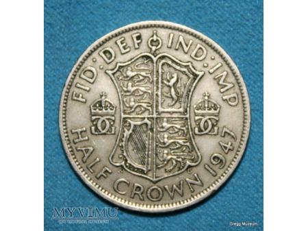 1/2 Crown 1947 Georgivs VI