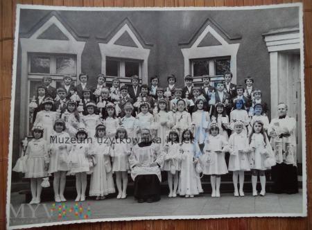 Stare zdjęcie komunia