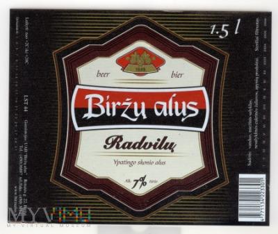 Birzu alus, Radvilu