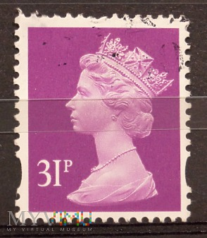 Elżbieta II, GB 1632