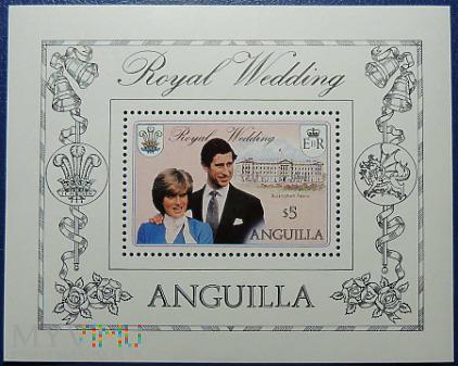 Anguilla 5$ Księżna Diana i Książę Karol
