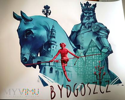 Duże zdjęcie plakat z pomikiem Kazimierza Wielkiego