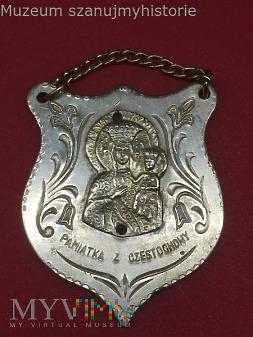 Duże zdjęcie Ryngraf pamiątka z Częstochowy (2)
