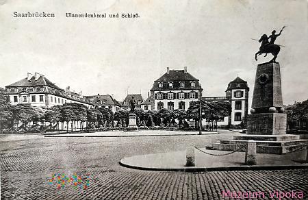 Saarbrücken - pomnik wojownika - ułana