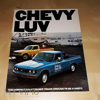 Prospekt Chevrolet LUV 1979